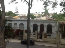 View from my apartment in Barranco.