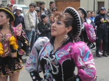 Proud Puno Dancer